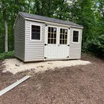 Outdoor shed in Long Island NY.