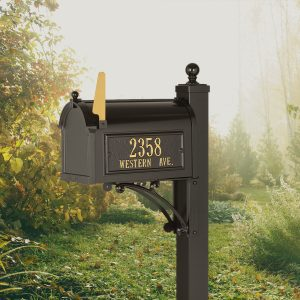 Whitehall Deluxe Capitol Mailbox Package